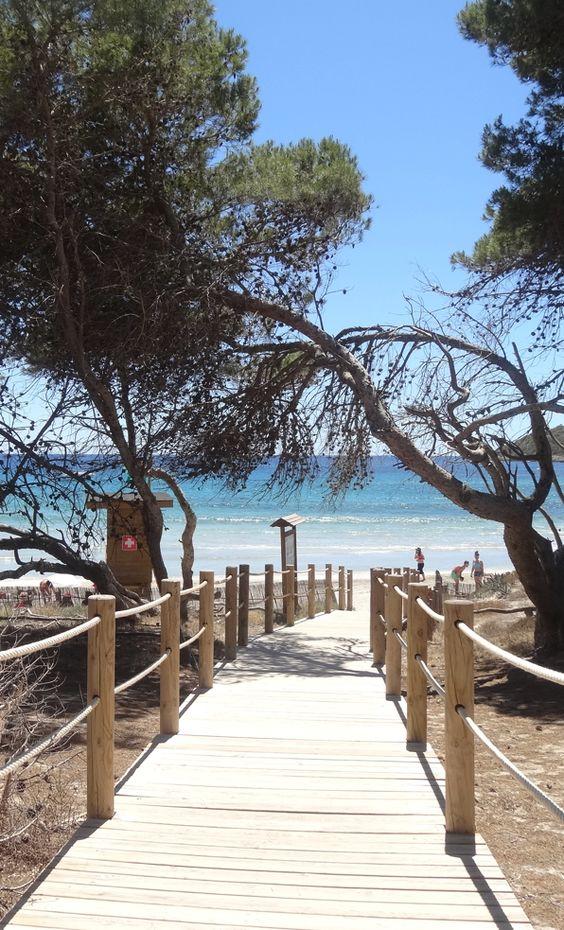 Ses Salines Beach Ibiza Island