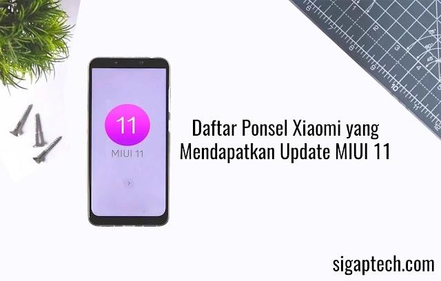 Daftar Ponsel Xiaomi yang Mendapatkan Update MIUI 11