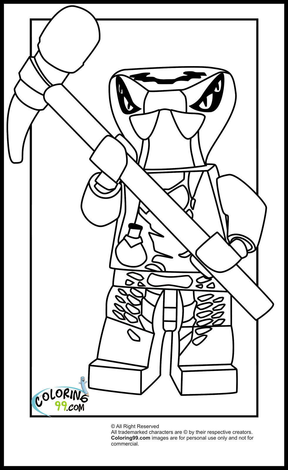 It's just a photo of Agile ninjago coloring picture
