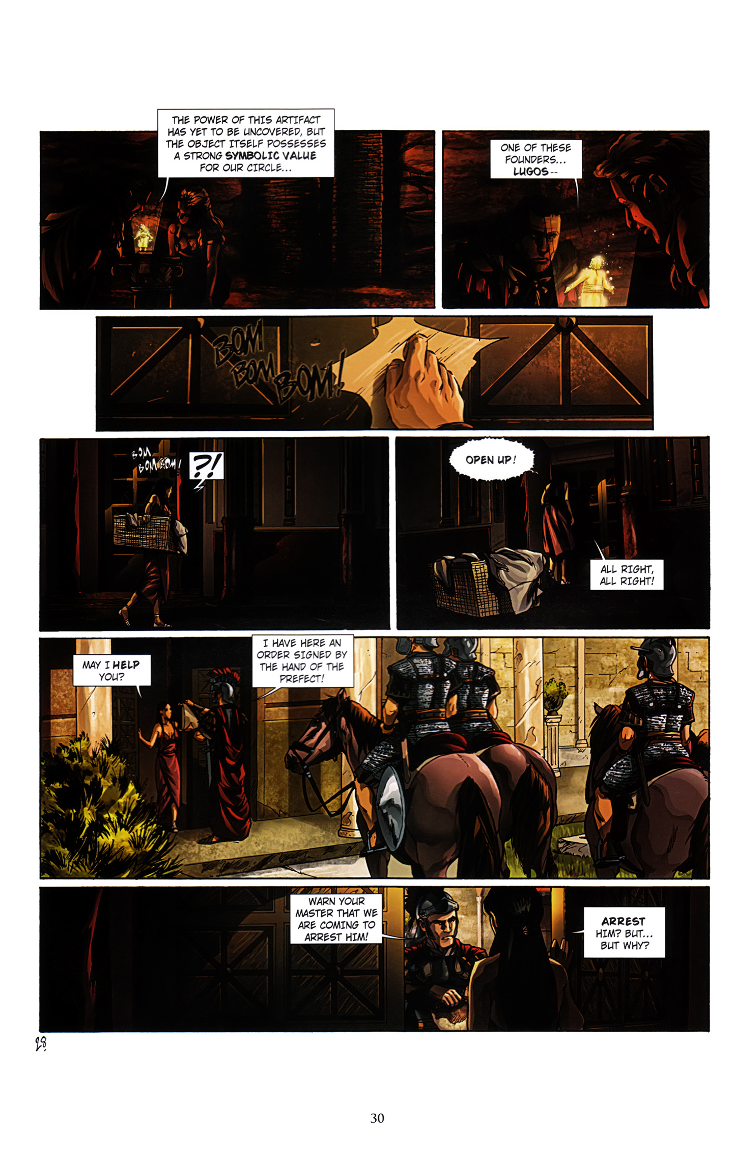 Read online Assassin's Creed (2012) comic -  Issue #3 - 34