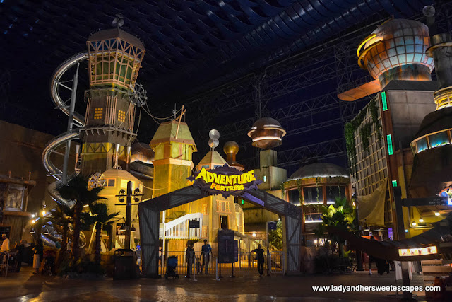 adventure fortress at IMG Worlds of Adventure