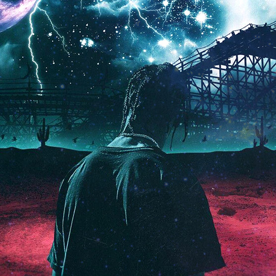 Travis Scott - Astroworld Wallpaper Engine