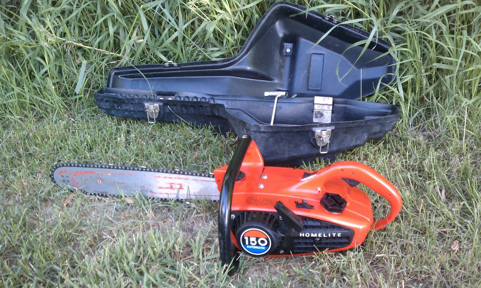 Homelite Textron Chainsaw Manual 10655