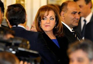 """La diputada nacional del Frente para la Victoria Nilda Garré quedó en medio de la polémica luego de que se le atribuyera un audio en el que supuestamente realizó un juego de palabras en el que tildó a la clase media de """"clase mierda""""."""