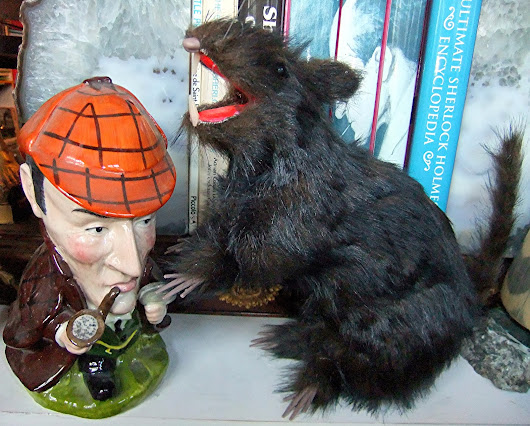 Celebrate World Rat Day with Sherlock Holmes