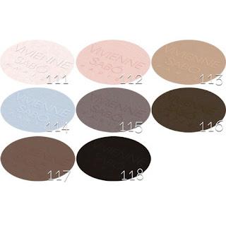 Устойчивые моно-тени для век Vivienne Sabo Paris Petite Jeux Eye Shadow Longlasting в оттенке 117