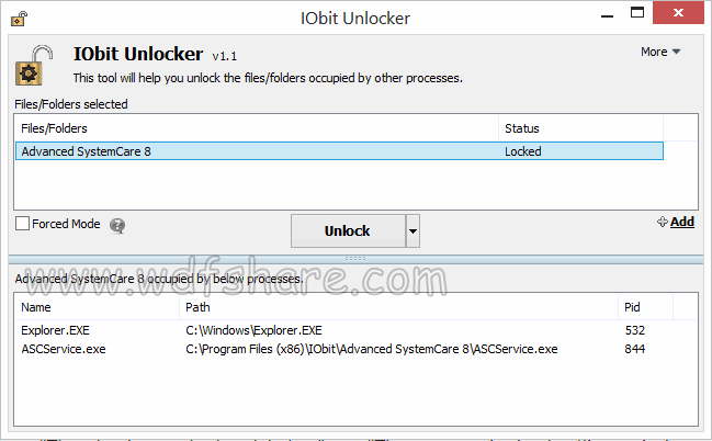 iObit UnLocker final full version work