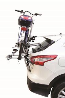 Bagażnik do przewozu 2 rowerów elektrycznych Fabbri Bici Ok 2 ELETTROBIKE