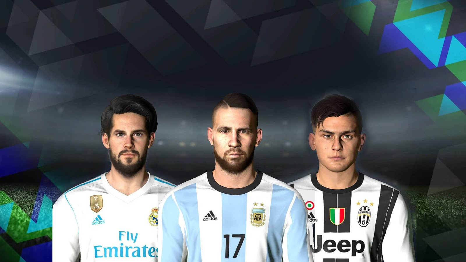 PES 2017 THE LAST FACEPACK by LR7_Face