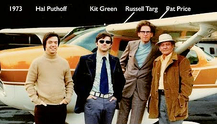 Hal Puhoff, Kit green, Russell Targ, Pat Price (Remote Viewing) 1973