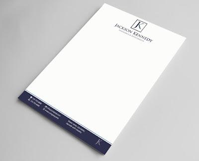7 mẫu thiết kế Letterhead ấn tượng
