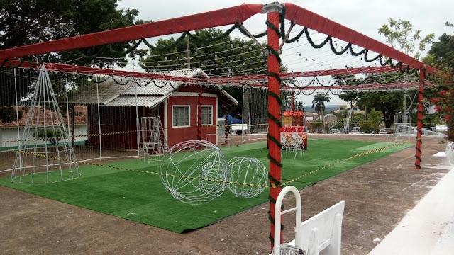 Prefeitura inaugura decoração de Natal que custou R$ 200 mil em Cacoal
