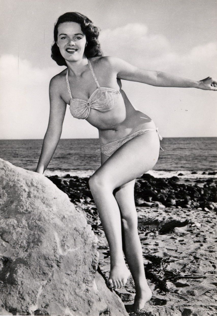 Lori Nelson Sexy, Jane Russell Richard Egan Vintage Photo Underwater