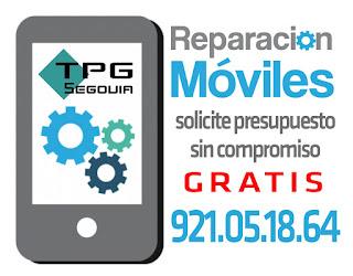REPARACION ARREGLO DE PANTALLAS TELEFONOS TABLET SEGOVIA. BARATO Y ECONOMICO