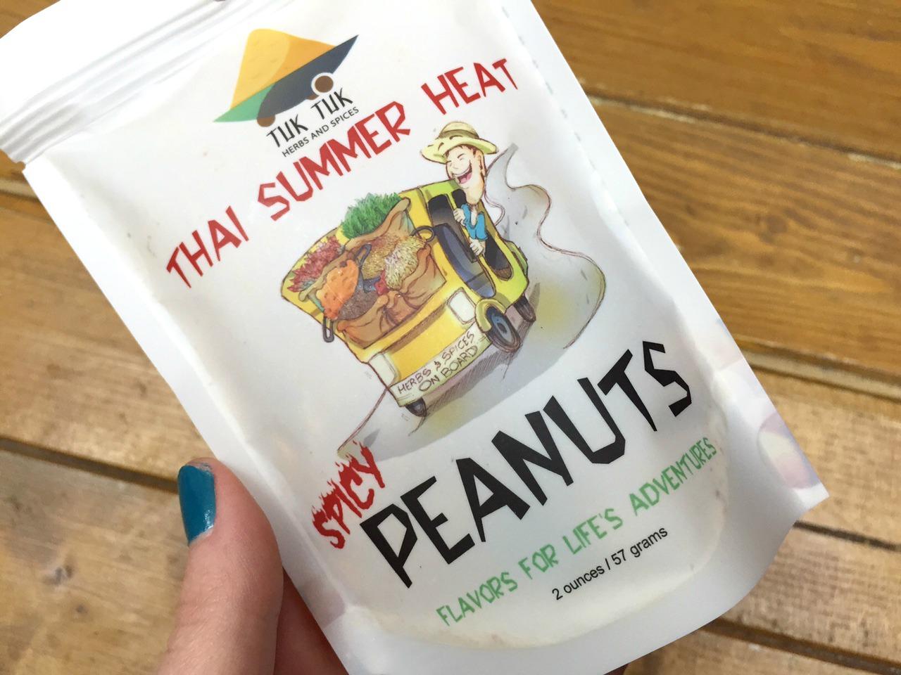 Tuk Tuk Thai Summer Heat Spicy Peanuts