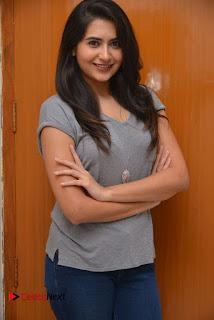 Actress Vyoma Nandi Pictures in Jeans at Marala Telupana Priya Movie Success Meet  0031