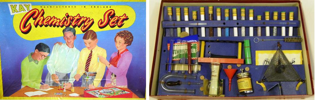 Kay Chemistry Set 1960s