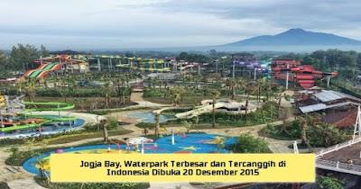 Jogja Bay, Waterpark Terbesar dan Tercanggih di Indonesia