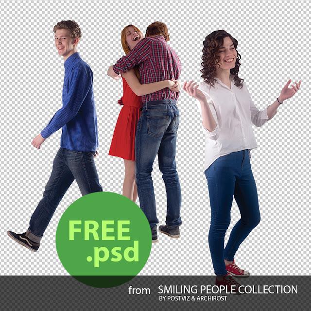 Скачать бесплатно PSD людей для визуализаций | Блог Archirost