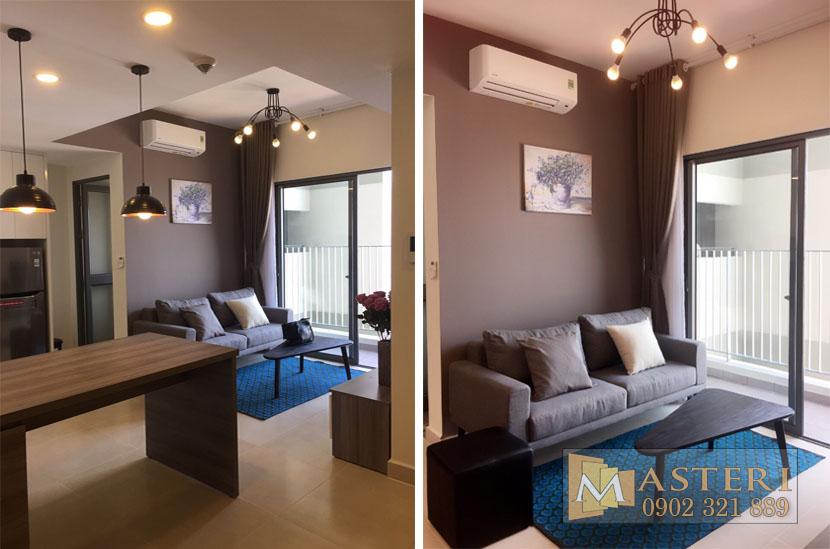 Bán căn hộ Masteri Thảo Điền 2 phòng ngủ 60m2 view sông cực đẹp - hinh 4