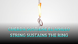 Cuerda sostiene el anillo, IONIC BONDS, String sustains the ring