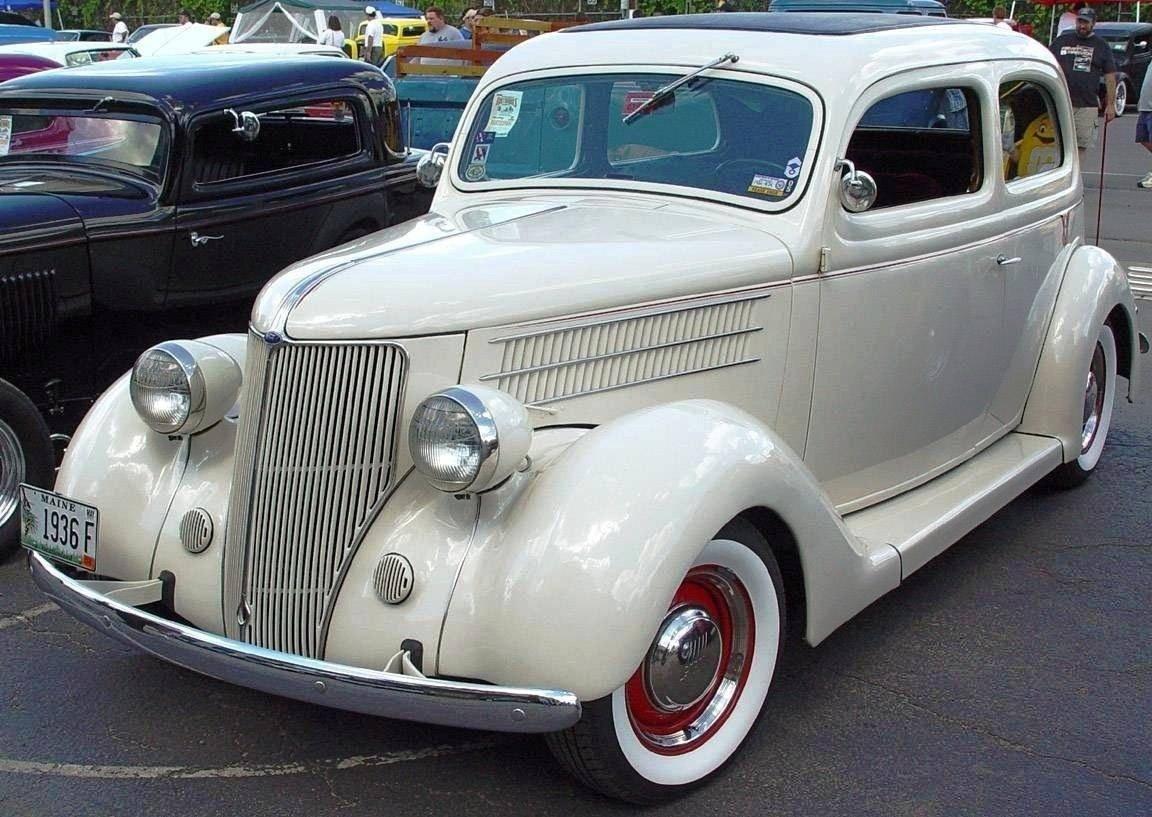 1936 ford classic car