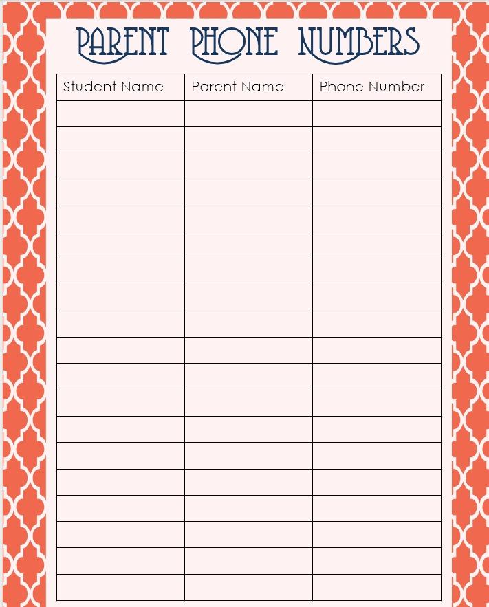 classroom list template hitecauto - classroom list template