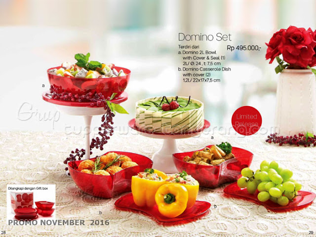 Domino Set Promo Tupperware November 2016