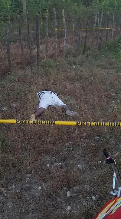 DE ÚLTIMOS MINUTOS Encuentran cuerpo sin vida tirado en un solar  en el trayecto de Canoa- Bombita