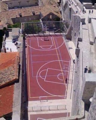 campo basket baloncesto diminuto