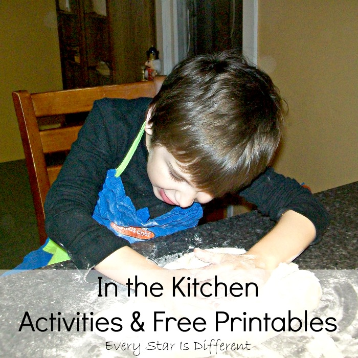 In the Kitchen Activities & Free Printables