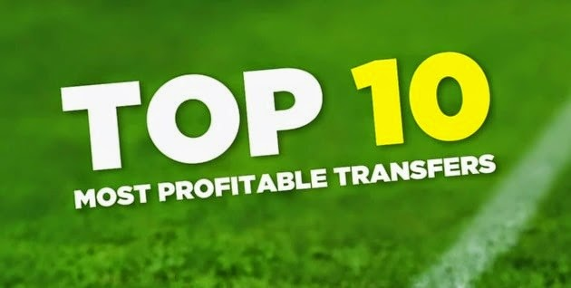 Top 10 Most Profitable Transfers Of All-Time