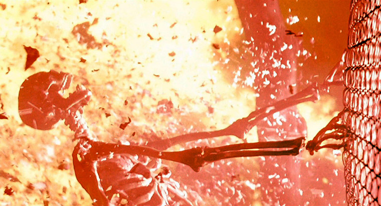 Nukleare Explosion in Terminator 2 (1991). Quelle: StudioCanal Blu-ray Screenshot (bearbeitet)