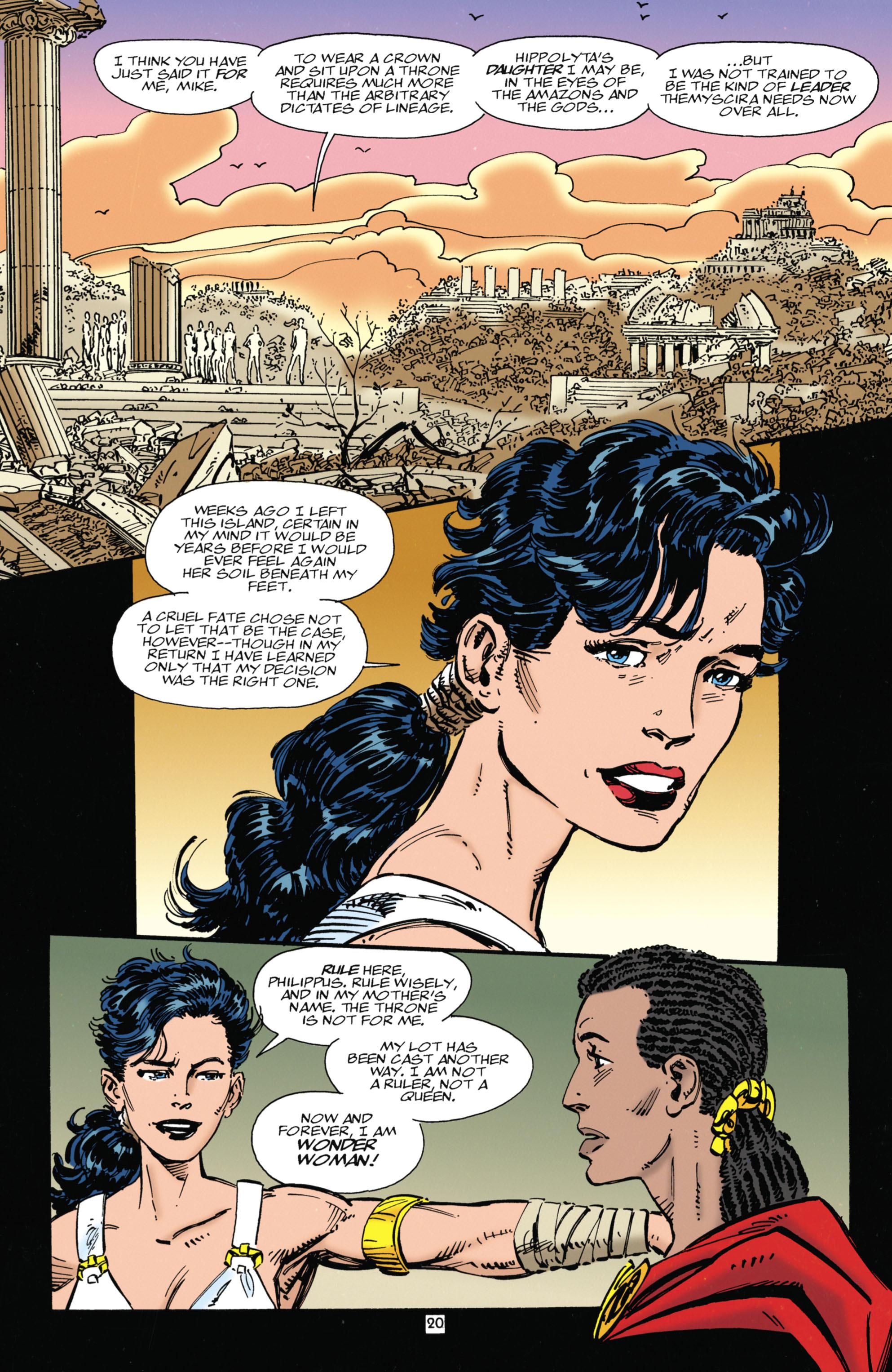 Read online Wonder Woman (1987) comic -  Issue #104 - 20