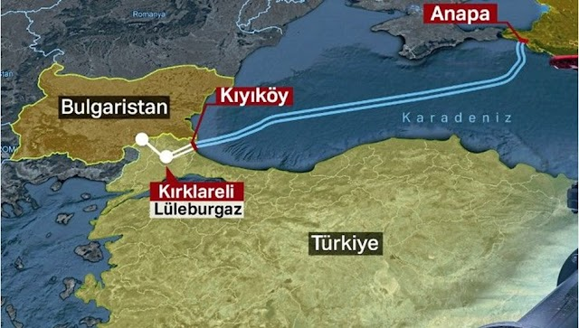 Rus Doğal Gazının Karadeniz'den Trakya'ya taşınmasını sağlayan projenin adı nedir?