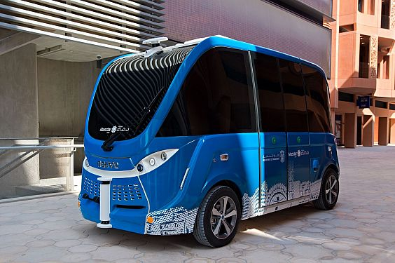 Masdar unveils new self-driving shuttle