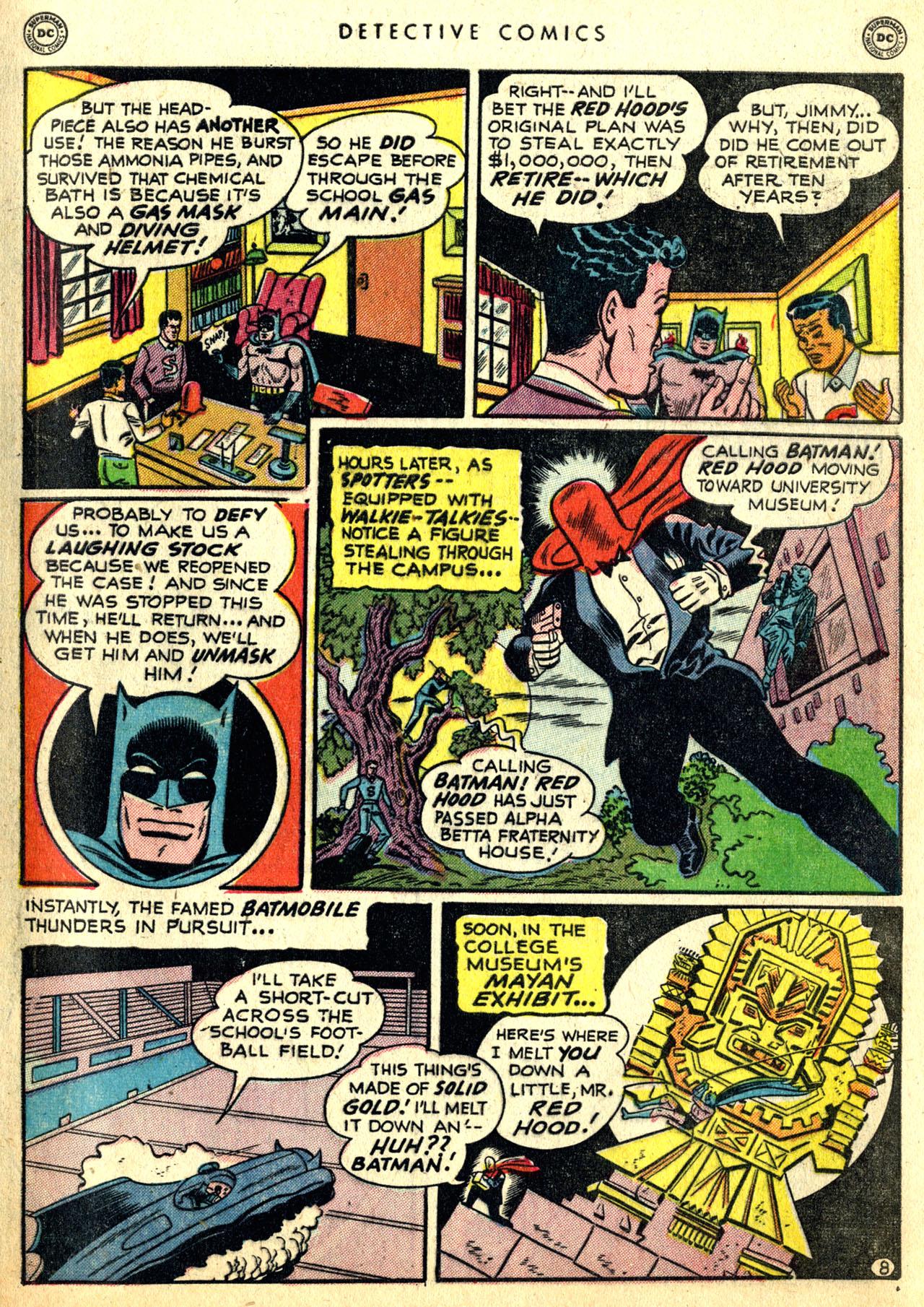 Read online Detective Comics (1937) comic -  Issue #168 - 10
