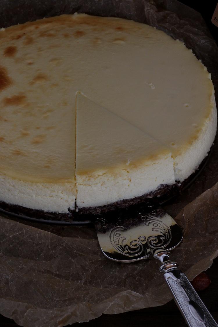 Gluten Free Hazelnut Cheesecake - Glutenfreier Haselnuss-Cheesecake 2