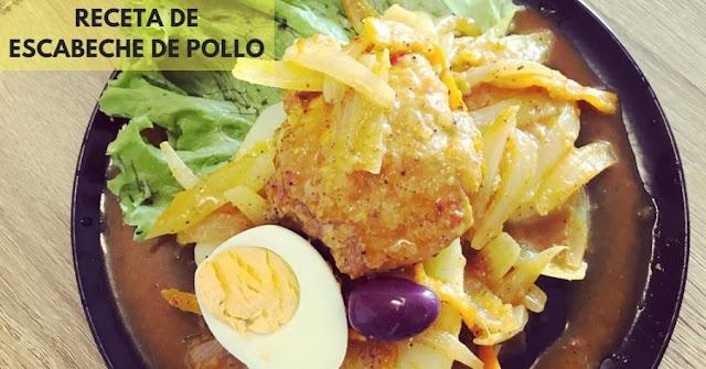 receta de escabeche de pollo