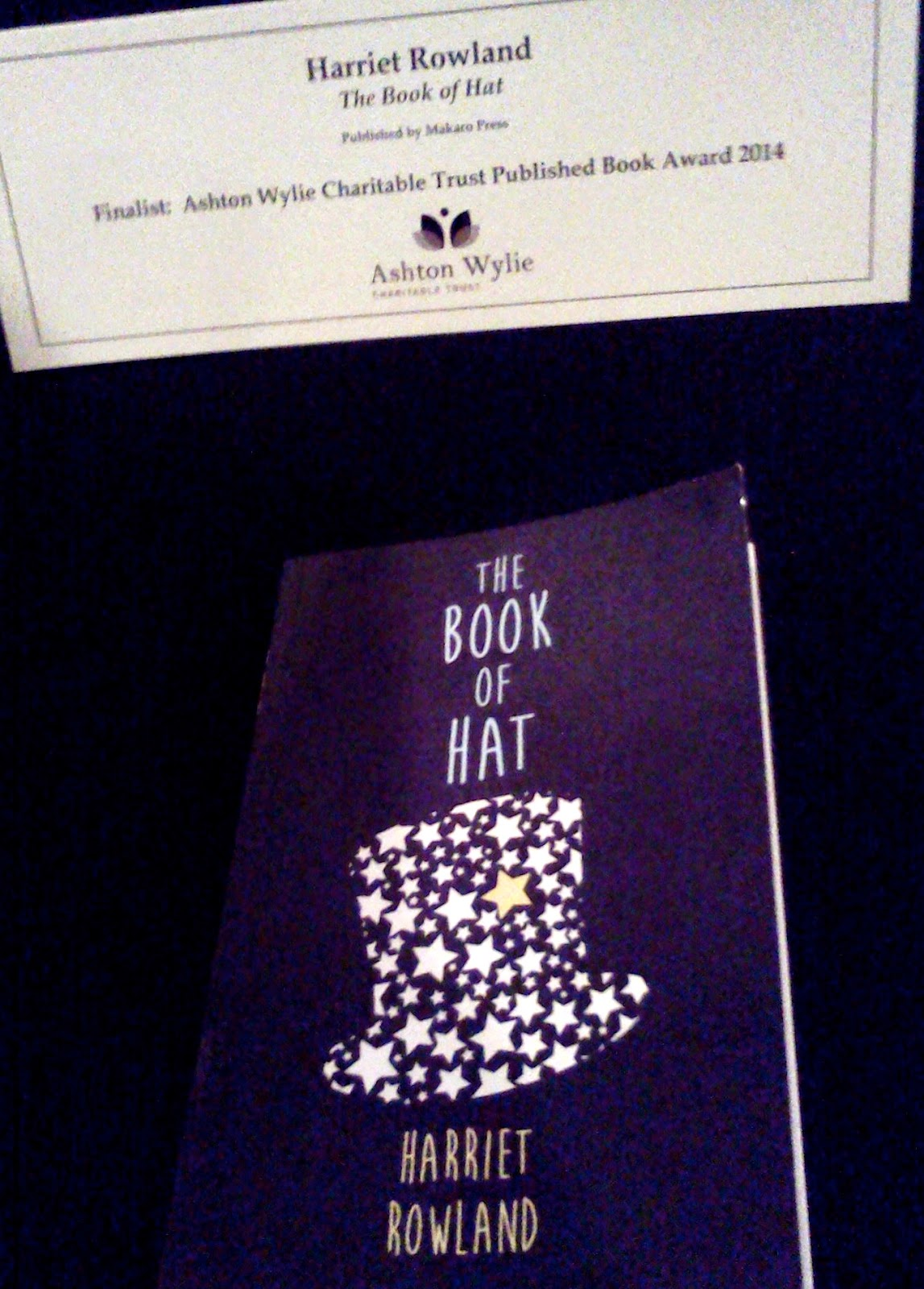 4edf5311f4d New Wellington publisher Mākaro Press is delighted to announce its indie  hit The Book of Hat by Harriet Rowland was runner-up in the prestigious  mind
