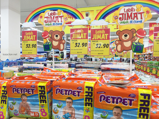 PetPet diapers on sale