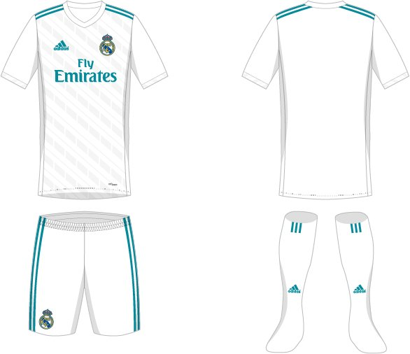 New Real Madrid 2017-18 Kit