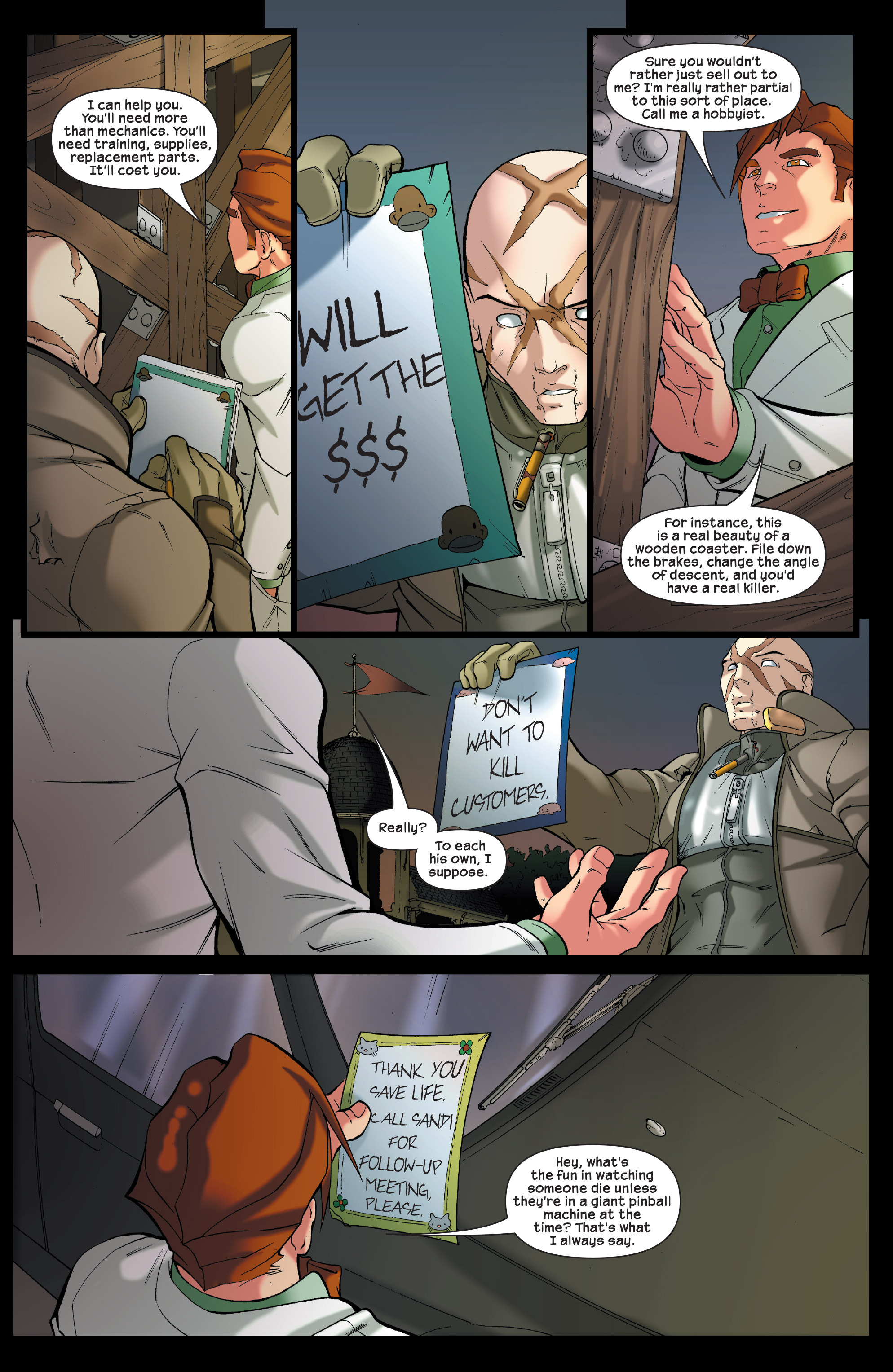 Read online Agent X comic -  Issue #5 - 11
