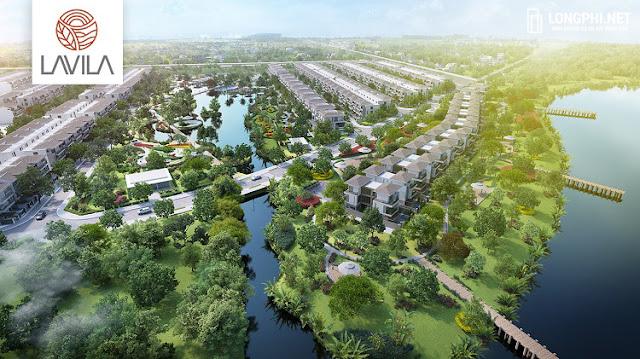 Dự án biệt thư đơn lập Lavila De Rio Kiến Á mang nhiều ưu thế về tiện ích, cảnh quan, vị trí,...