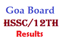 Goa Board 12th HSSC Results