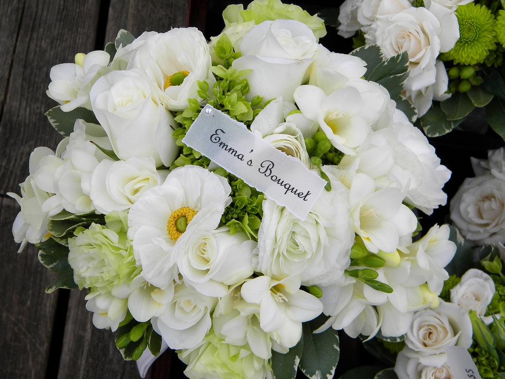 Wedding Flowers From Springwell: Happy 1ST Anniversary