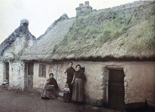 Ireland In Color Photographs In The 1910s Vintage Everyday