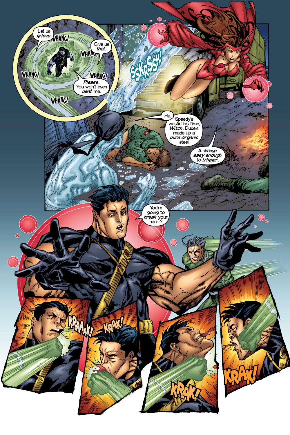 Read online Ultimate X-Men comic -  Issue #1/2 - 8