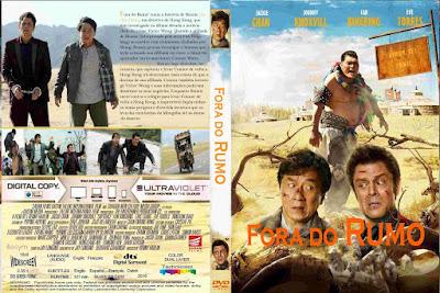 Filme Fora do Rumo (Skiptrace) DVD Capa