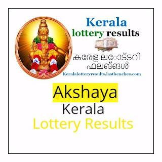 Akshaya lottery result ak-322 lottery result 6.12.17